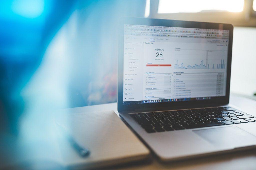 analytics, charts, graphs